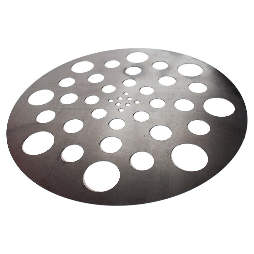 Image of Gateway Drum Smoker Diffuser Plate - Silver