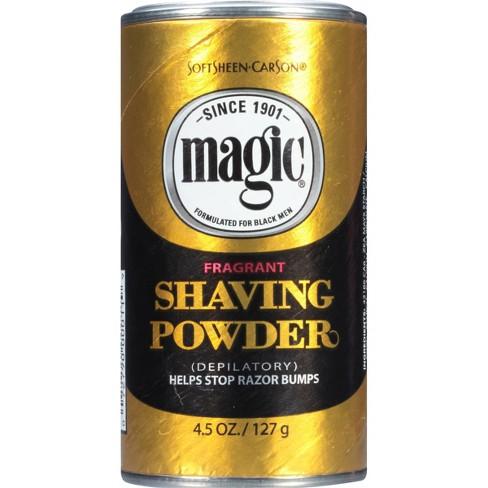 Magic Shaving Powder + Razorless Depilatory with Fragrance for Coarse Textured Beards - 4.5oz - image 1 of 4