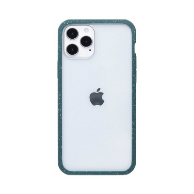 Pela Apple Eco-Friendly Clear Protection Ridge Case - Green