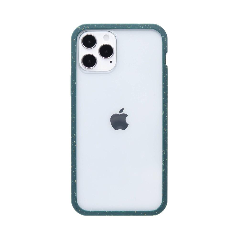 Pela Apple Iphone 12 Pro Max Eco Friendly Clear Protection Ridge Case Green