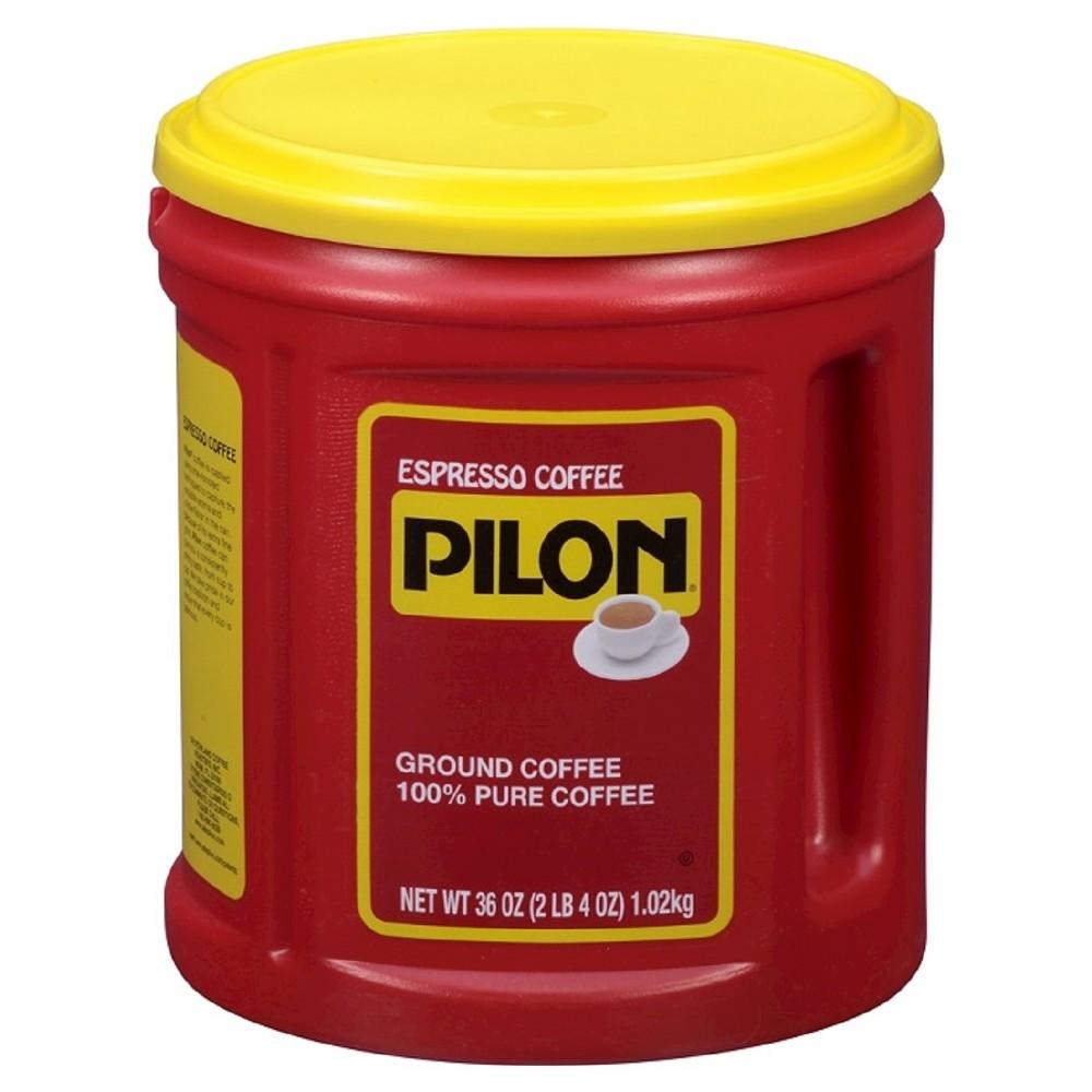 Pilon Espresso 100% Pure Dark Roast Ground Coffee - 36oz