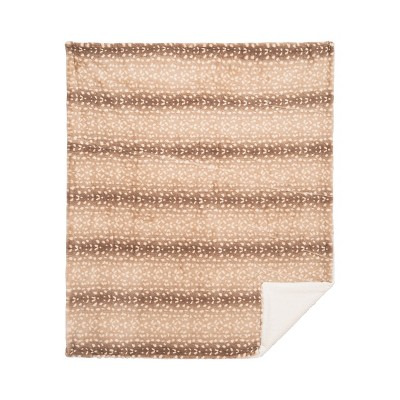 """C&F Home Spotted Deer Cotton Quilted 50"""" x 60"""" Throw Blanket"""