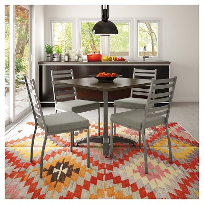 Stage Dining Chair Metal/Gray (Set Of 2)   Amisco : Target