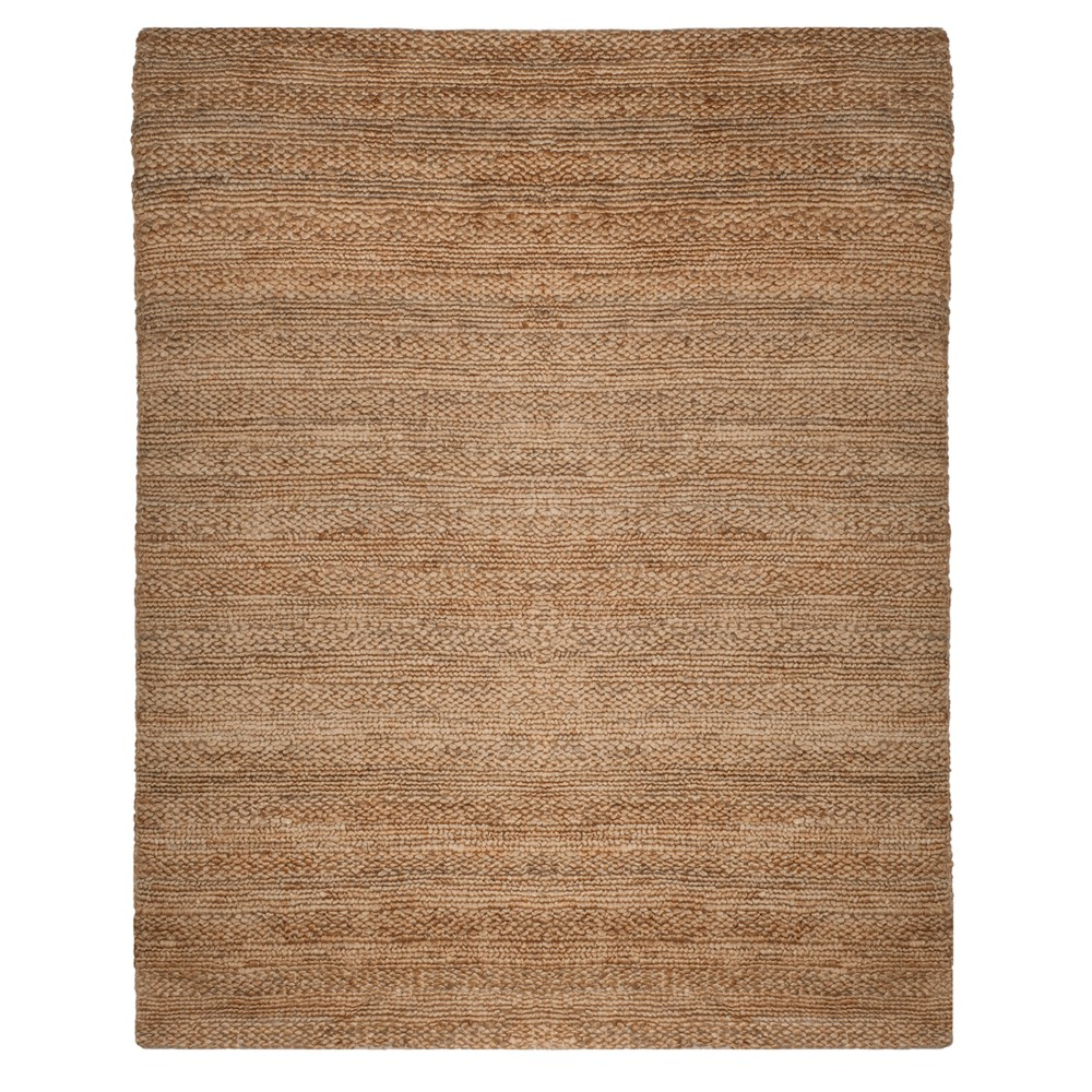 Natural Solid Woven Area Rug 9'X12' - Safavieh