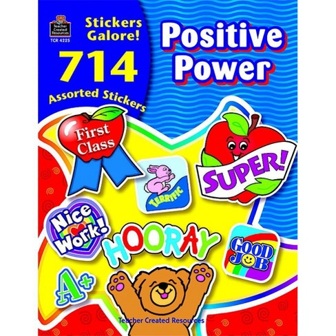 Teacher Created Resources Positive Power Sticker Book, set of 714 - image 1 of 1