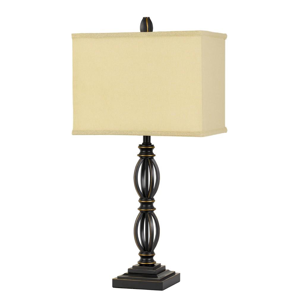 150W 3 Way Mondovi Metal Table Lamp (Lamp Only) - Cal Lighting, Multi-Colored