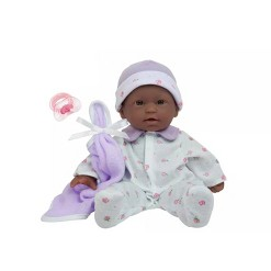 """""""JC Toys La Baby 11"""""""" Baby Doll - Purple Outfit"""""""