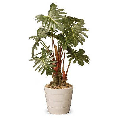 "Garden Accents Artificial Philodendron Flower Green 21"" - National Tree Company"