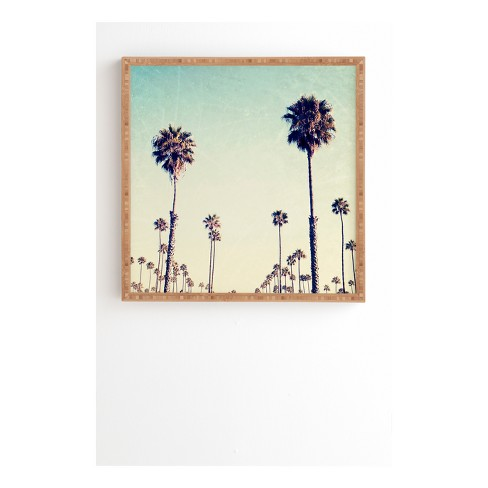 Bree Madden  California Palm Trees Framed Wall Art - image 1 of 1