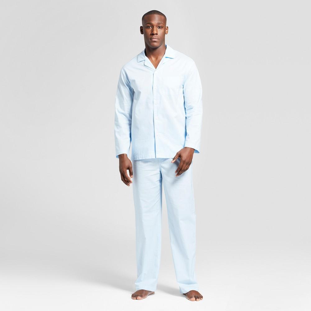Men's Woven Pajama Set - Goodfellow & Co Bayshore Blue M