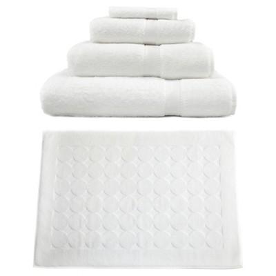Terry Towel Combination 5pc Set White - Linum Home Textiles