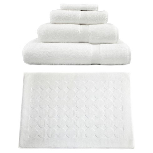 Terry Towel Combination 5pc Set White - Linum Home Textiles® - image 1 of 1