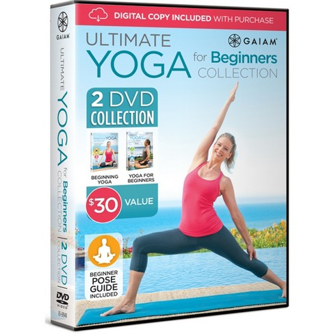 Gaiam® Ultimate Yoga for Beginners DVD Collection (2pk) - image 1 of 5