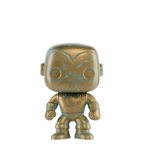 Funko POP! Marvel: Marvel 80th - Iron Man (Patina) (Target Exclusive) - image 1 of 2