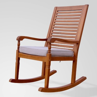 Nantucket Rocking Chair with Gray Cushion - Merry Products