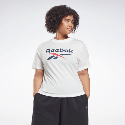 Reebok Identity T-Shirt (Plus Size) Womens Athletic T-Shirts
