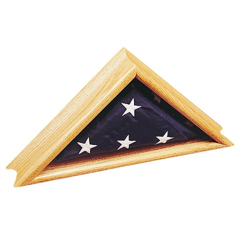 "Deluxe Oak Case for Flags- 24"" x 12.5"" - image 1 of 1"