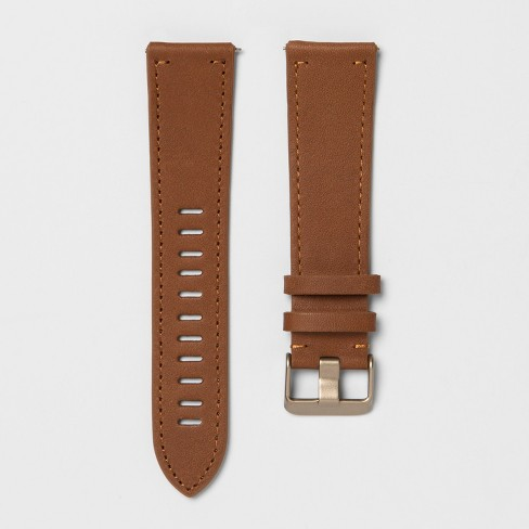 heyday™ Fitbit Versa Band - Brown Leather - image 1 of 1