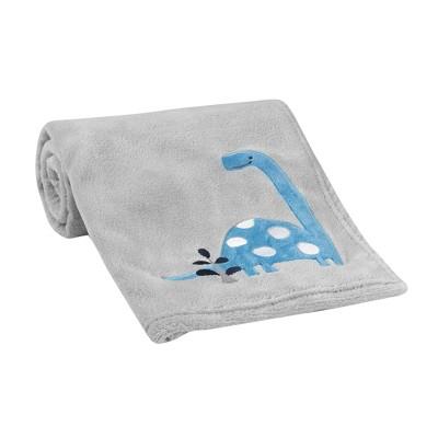 Bedtime Originals Roar Blanket - Gray