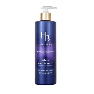 Hair Biology Silver Conditioner with Biotin For Gray or Color Treated Hair -  12.8 fl oz
