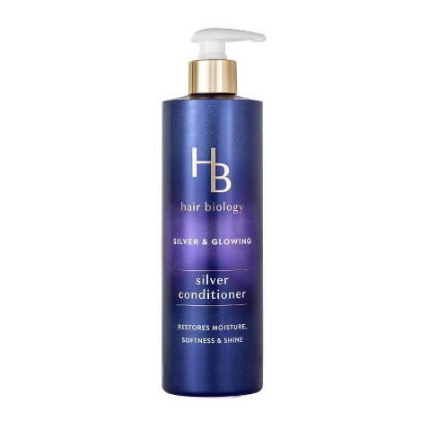 Hair Biology Silver Conditioner with Biotin For Gray or Color Treated Hair -  12.8 fl oz - image 1 of 4