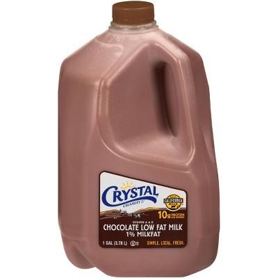 Crystal Creamery 1% Chocolate Milk - 1gal