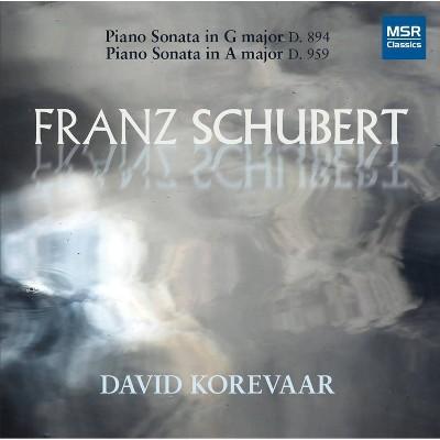 Schubert, Franz [Vienna]; David Korevaar [Piano] - Franz Schubert: Piano Sonata in G major D. 894; Piano Sonata in A major D. 959 (CD)