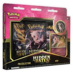 Pokemon Hidden Fates Pin Collection Box Trading Card Game