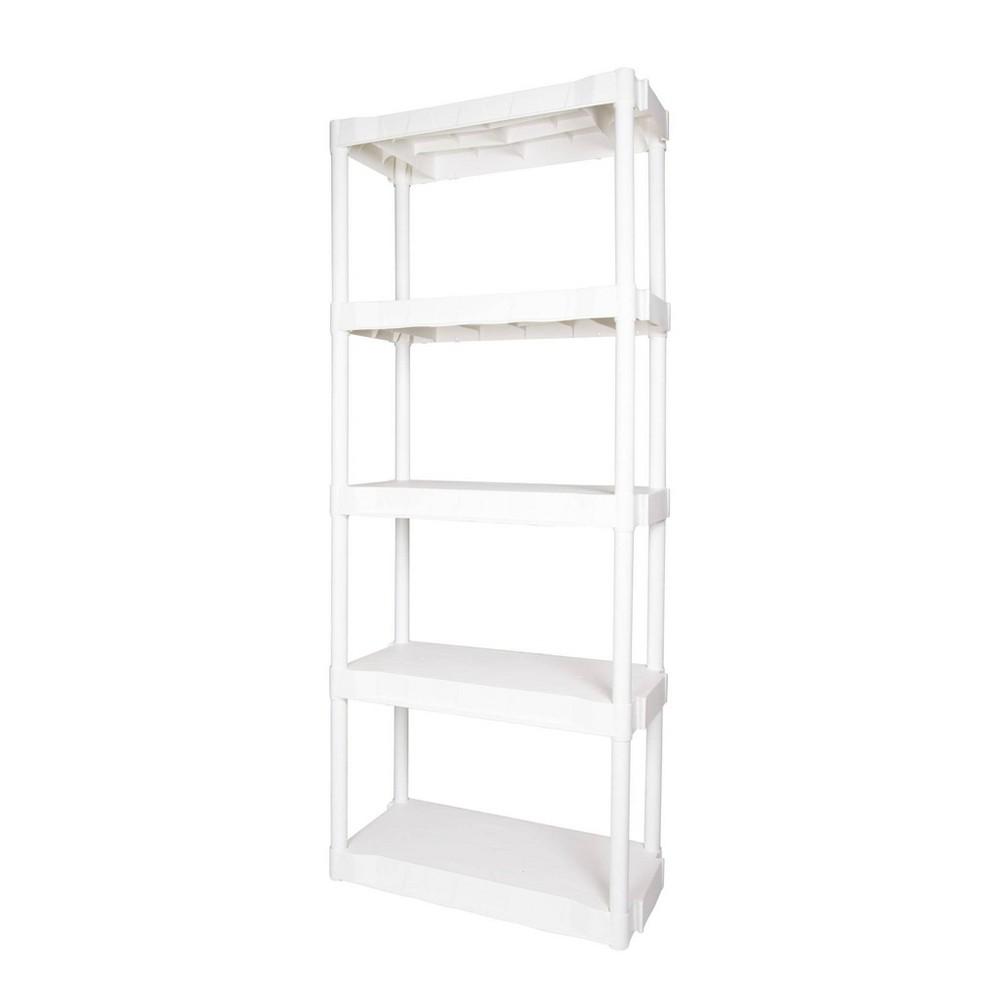 Image of Plano 5 Shelf Utility Storage White