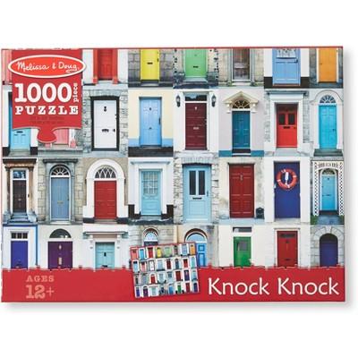 Melissa And Doug Knock Knock Doorways Puzzle 1000pc