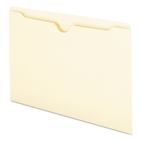 Smead® File Jackets with Double-Ply Top, Legal, 11 Point Manila, 100/Box - image 1 of 4