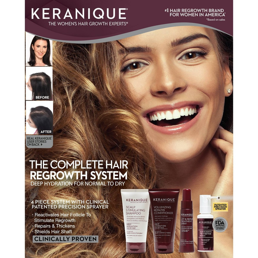 Image of Keranique The Complete Hair Regrowth System