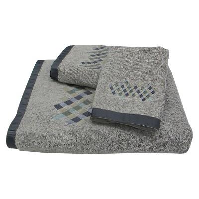 Relativity Towel 3pc Set Gray