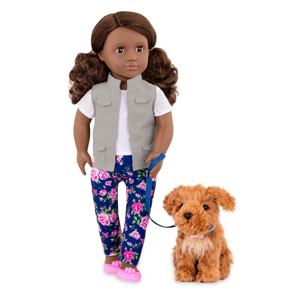 Our Generation Doll & Pet - Malia with Poodle