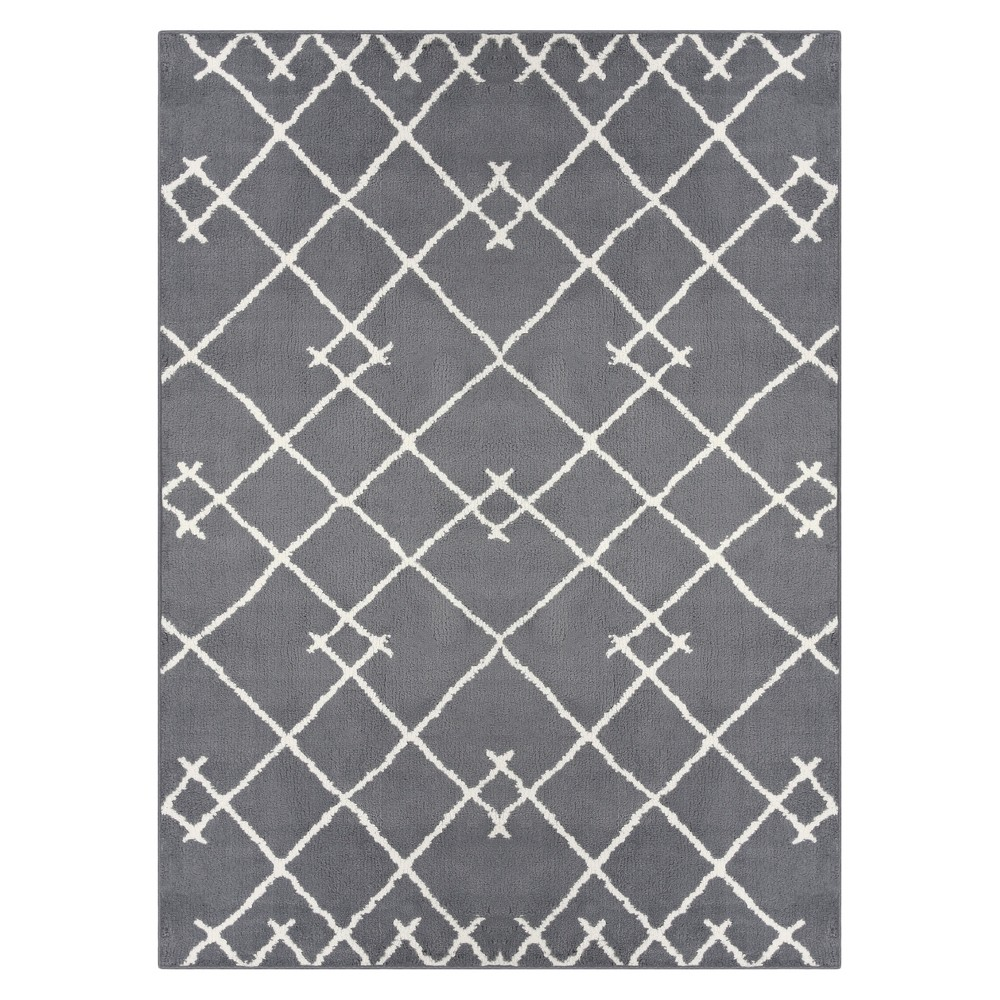 7'X10' Kenya Tribal Tufted Area Rugs Gray - Project 62