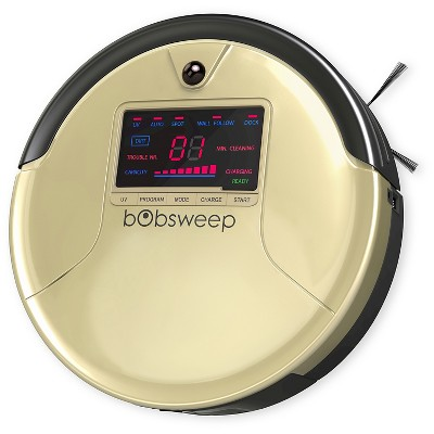 bObsweep PetHair Robotic Vacuum and Mop -Champagne