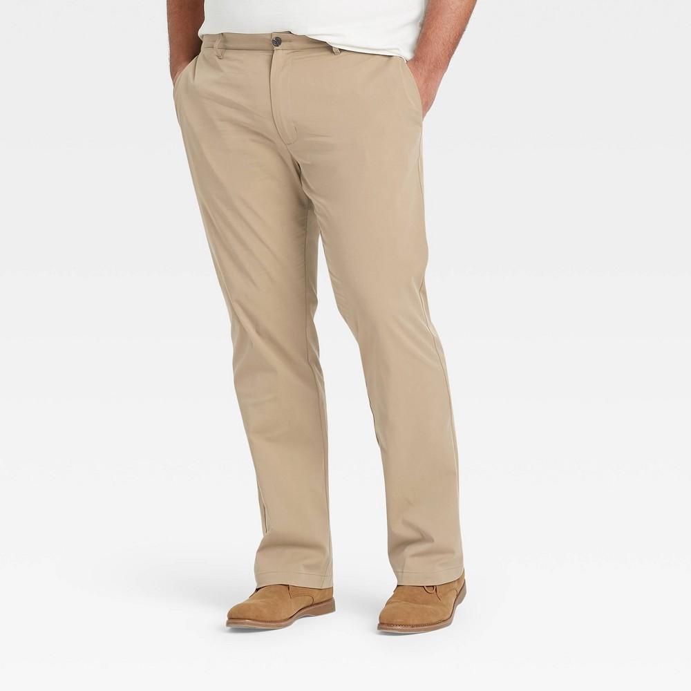 Men 39 S Slim Straight Fit Hennepin Tech Chino Pants Goodfellow 38 Co 8482 Beige 38x32