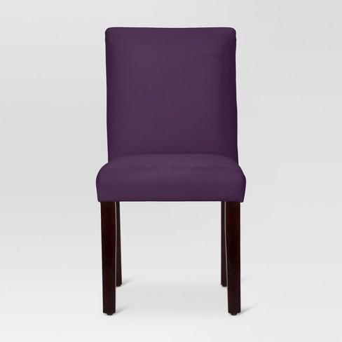 Velvet Parsons Dining Chair - Threshold™ - image 1 of 4