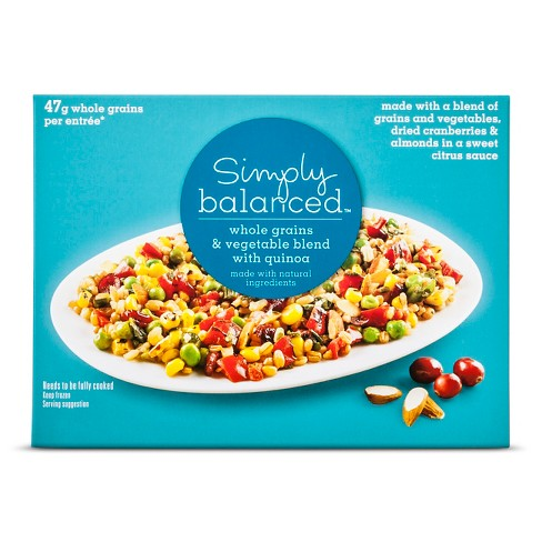Frozen Ancient Grains and Vegetable Medley - 9oz - Simply Balanced™ - image 1 of 1