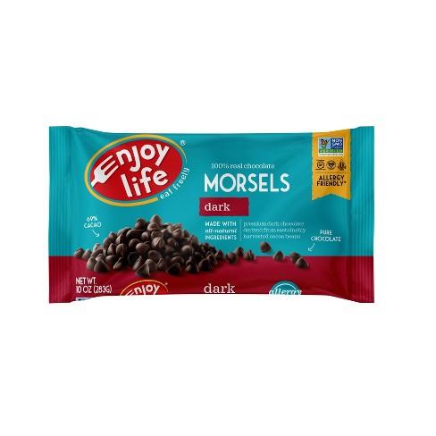 Enjoy Life Dark Chocolate Dairy Free Vegan Baking Morsels - 10oz - image 1 of 4