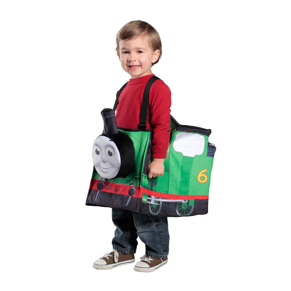 Kids' Percy Ride-In Train Halloween Costume - Princess Paradise, Kids Unisex, Green