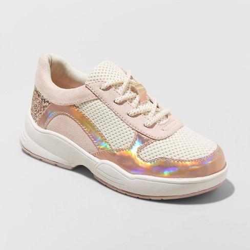Girls' Pepper Sneakers - art class™ Blush - image 1 of 3