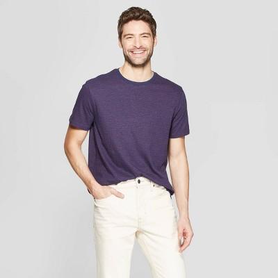 2255b56f315 Men s Pinstripe Standard Fit Short Sleeve Novelty T-Shirt - Goodfellow ...