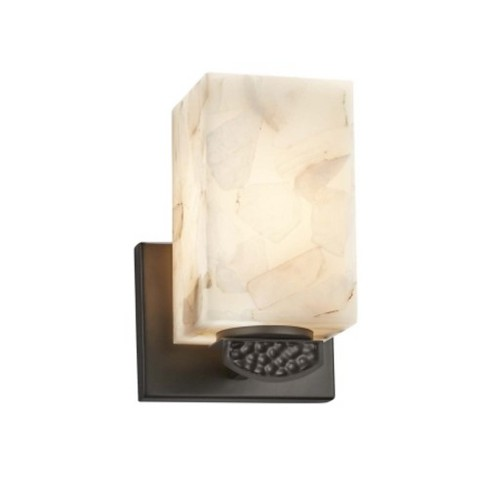 """Justice Design Group ALR-8491-15 Malleo 8"""" Tall Bathroom Sconce - - image 1 of 1"""