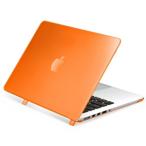 """Insten For Apple MacBook Pro 13"""" with Retina Display Clip-on Matte Rubber Hard Case , Clear Orange - image 1 of 3"""