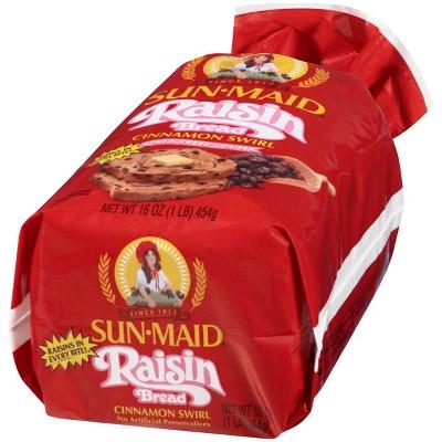 Sunmaid Raisin Cinnamon Swirl Bread - 16oz