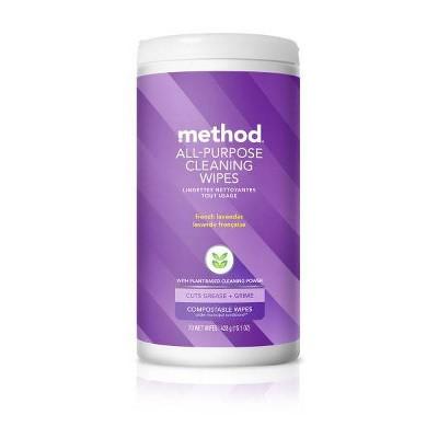 Method All Purpose Wipes Lavender - 70ct
