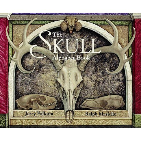 The Skull Alphabet Book - (Jerry Pallotta's Alphabet Books) by  Jerry Pallotta (Paperback) - image 1 of 1