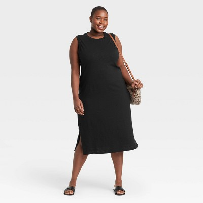 Women's Plus Size Sleeveless Dress - Universal Thread™