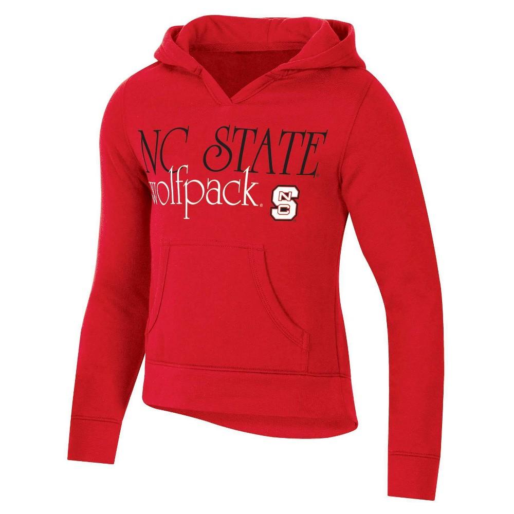 Ncaa Nc State Wolfpack Girls 39 Split Neck Hoodie Xl